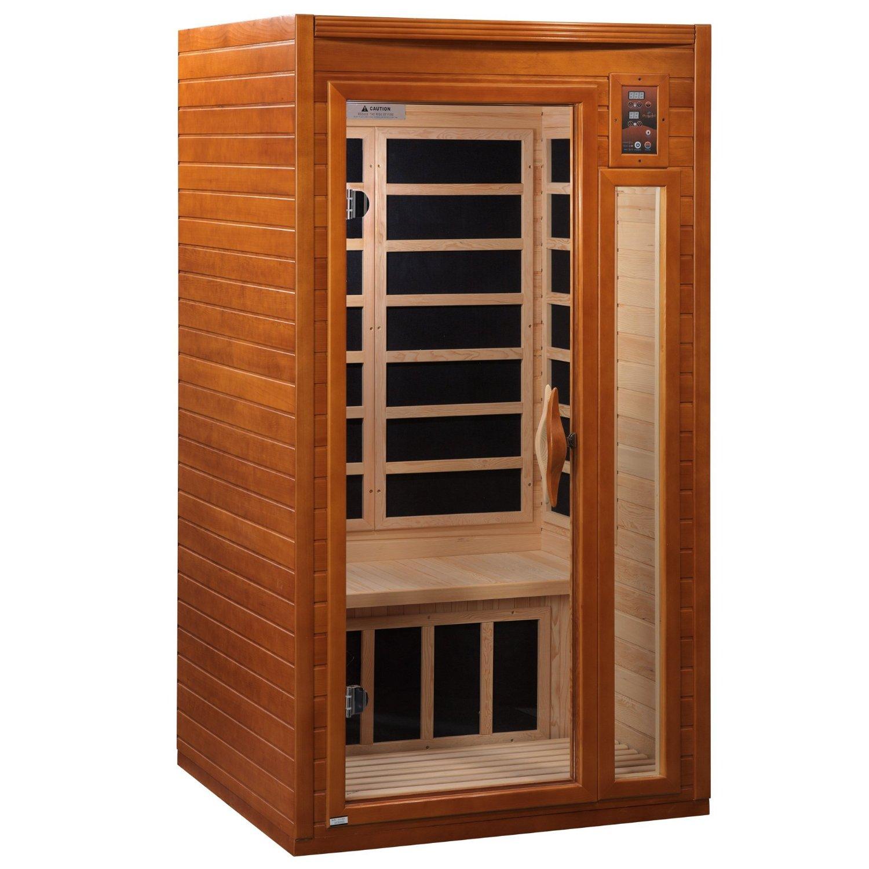 Single person infrared vitality sauna